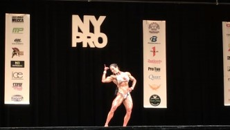 Maria Rita Penteado - 2nd Place Women's Physique 2017 NY Pro