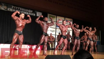 2017 IFBB Pittsburgh Pro Classic Physique Finals