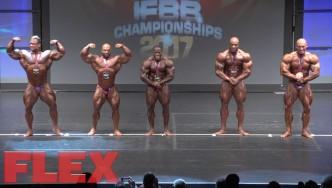 2017 IFBB Toronto Pro: Open Bodybuilding Final Posedown & Awards