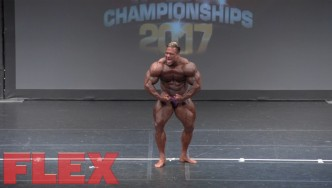 2017 IFBB Toronto Pro: Open Bodybuilding, Paulo Almeida 4th Place