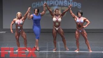 2017 IFBB Toronto Pro: Women's Bodybuilding Final Posedown & Awards