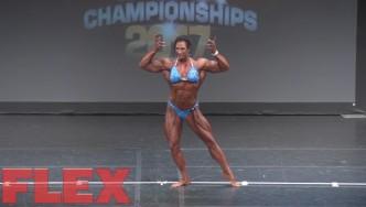 2017 IFBB Toronto Pro: Women's Bodybuilding, Robin Hills 4th Place