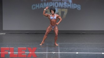 2017 IFBB Toronto Pro: Women's Bodybuilding, Wendy McCready 3rd Place