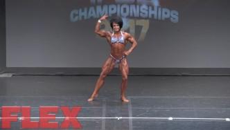 2017 IFBB Toronto Pro: Women's Bodybuilding, Wendy McCready 3rd Place