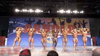 2018 Arnold Classic 212 Call Outs
