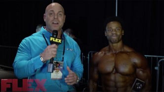 2018 Arnold Classic Physique Champ, Breon Ansley