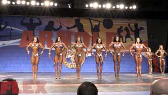 2018 Arnold Classic Figure Call Outs