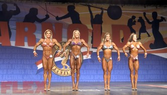 2018 Arnold Classic Fitness Call Outs