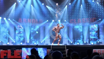 The Routine of 2018 Arnold Classic 5th Place Finisher, Steve Kuclo