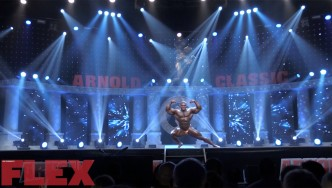 The Routine of 2018 Arnold Classic 6th Place Finisher, Lionel Beyeke