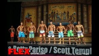 Comparison Men Physique - IFBB Europa Supershow Dallas 2013