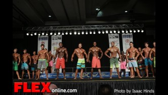 Comparisons - Men's Physique F - 2013 JR Nationals