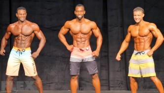 Men's Physique Final Comparisons & Awards - 2015 IFBB Toronto Pro