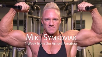 Mike Symkoviak Trains 1 Week Before the Arnold Amateur