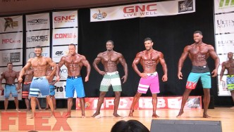 2016 IFBB Pittsburgh Pro Pre-Judging Highlights: Men's Physique