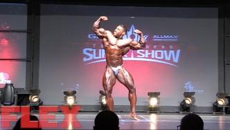 2016 Toronto Pro Open Bodybuilding Routine: Nathan DeAsha