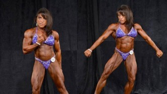 Nilsa Anderson Masters Women Bodybuilding Overall Interview with Dennis James