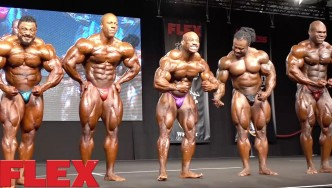 The 2016 Olympia Europe Final Posedown