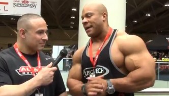 Interview With Mr Olympia Phil Heath at the 2013 Toronto Pro
