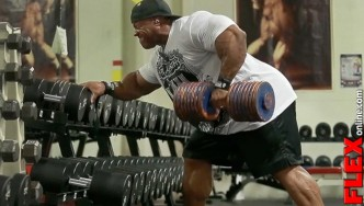 Two-Time Mr. Olympia Phil Heath's Back Training  - 5 Weeks Out
