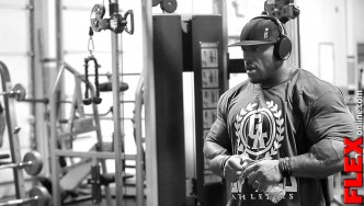 Mr Olympia Phil Heath 8 Weeks out from Olympia Chest Workout