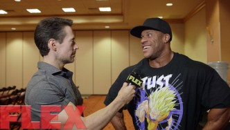 Phil Heath at the 2015 Mr. Olympia Athlete Meeting, Part 2