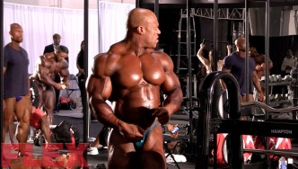 2016 Olympia Pump Up Room