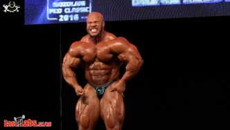 5X Mr. Olympia Phil Heath Guest Posing at the 2016 Mozolani Pro