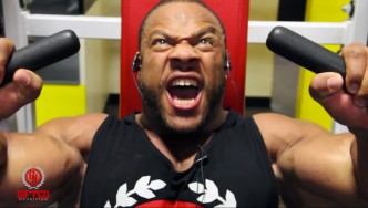 Phil Heath Trains Trains Chest, Part 2