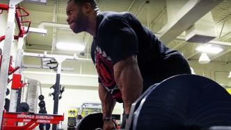Phil Heath Trains Trains Legs 5 Weeks Before the 2015 Olympia