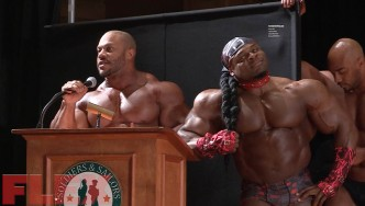 Epic Guest Posing at the 2016 IFBB Pittsburgh Pro