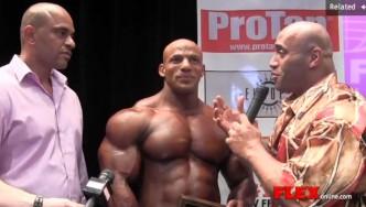 Winner's Circle Interview - Big Ramy Wins New York Pro
