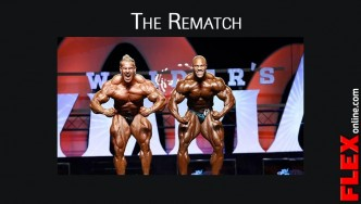 Jay Cutler & Phil Heath Going Head to Head on the Olympia Stage