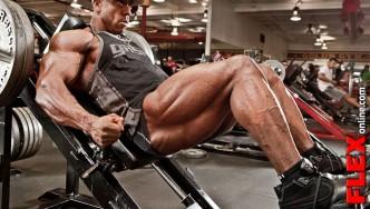 Shawn Rhoden Off-Season On Travel Leg Workout