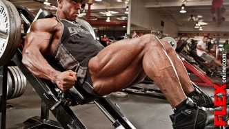 Shawn Rhoden Off-Season On Travel Leg Workout