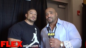 Roelly Winklaar at the 2015 Arnold Sports Festival