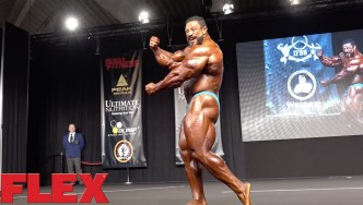 Roelly Winklaar at the 2016 Olympia Europe