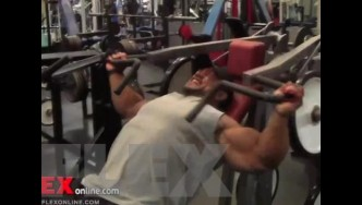 Roelly Winklaar Depletion Workout For 2013 Chicago Pro