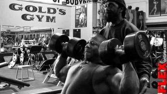 Shawn Rhoden Shoulder Workout 8 Weeks out from 2013 Mr Olympia