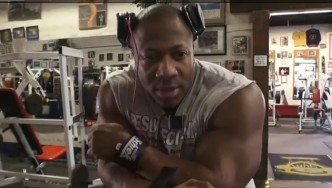 Shawn Rhoden Off-Season Arm Workout for Olympia