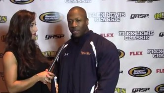 Shawn Rhoden Interview and Guest Posing at 2013FLC