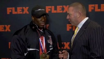 2012 Post Olympia Interview with Shawn Rhoden
