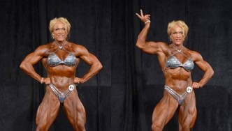 Shawna Strong Women Bodybuilding 35+ Overall Winner Interview with Dennis James