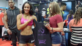 SNAC Booth at the 2015 Olympia Expo