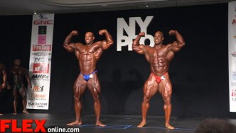 1st Call Out at the 2015 New York Pro: Martinez Vs. Morel