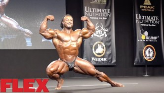 William Bonac at the 2016 Olympia Europe