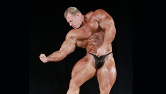 Dennis Wolf Guest Posing 2013 Pittsburgh Pro