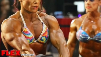 2014 Olympia Pump Up Room: Women's Bodybuilding!