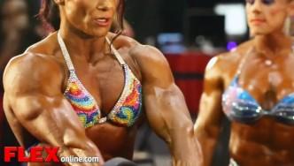 2014 Olympia Pump Up Room: Women's Bodybuilding!
