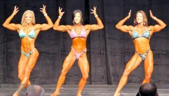 Women's Physique Final Comparisons & Awards - 2015 IFBB Toronto Pro
